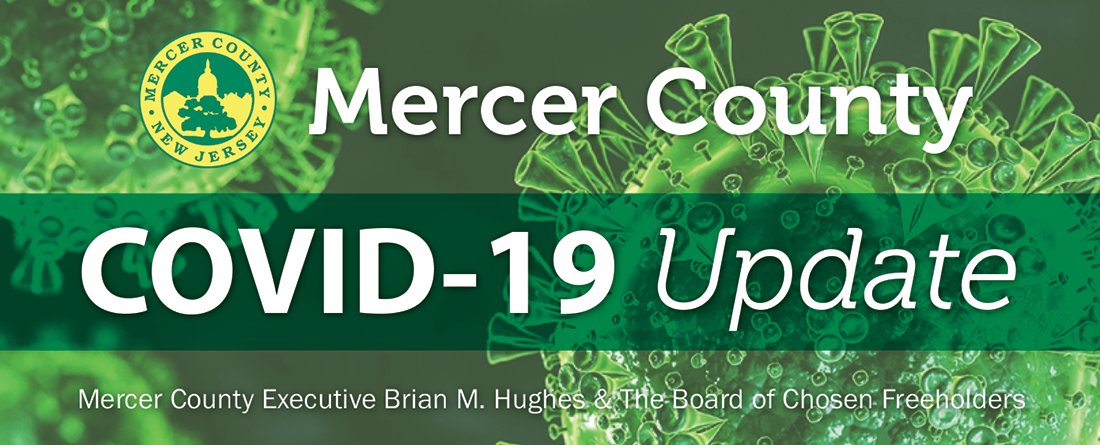 Mercer County New Jersey COVID 19 Update