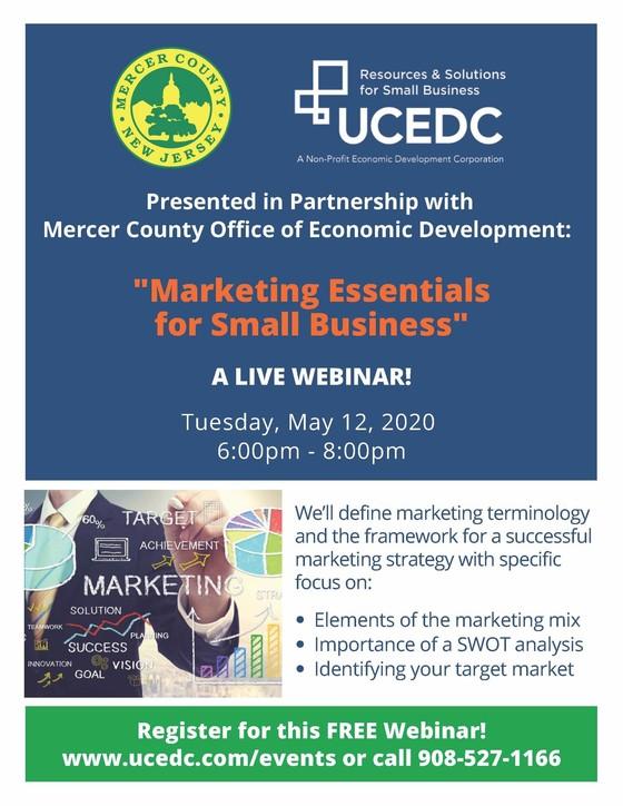 'Marketing Essentials' webinar