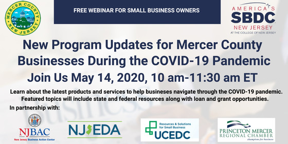 Mercer SBDC webinar 5-14-20