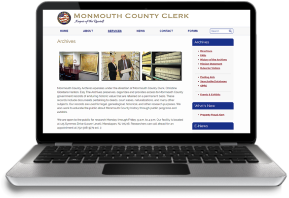 Have you visited the Monmouth County Archives?