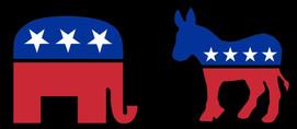 elephant/donkey image