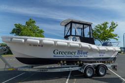MCHD Greener Blue Pumpout Boat