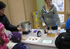 maple sugaring demo