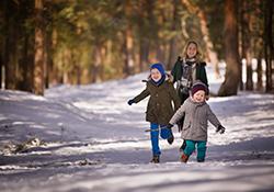 wild about winter mini camp