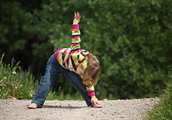 yoga for nature kids