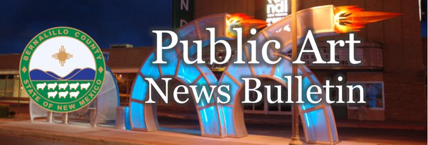 Public Arts Banner