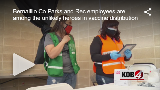 Parks and Rec KOB 4 News Story