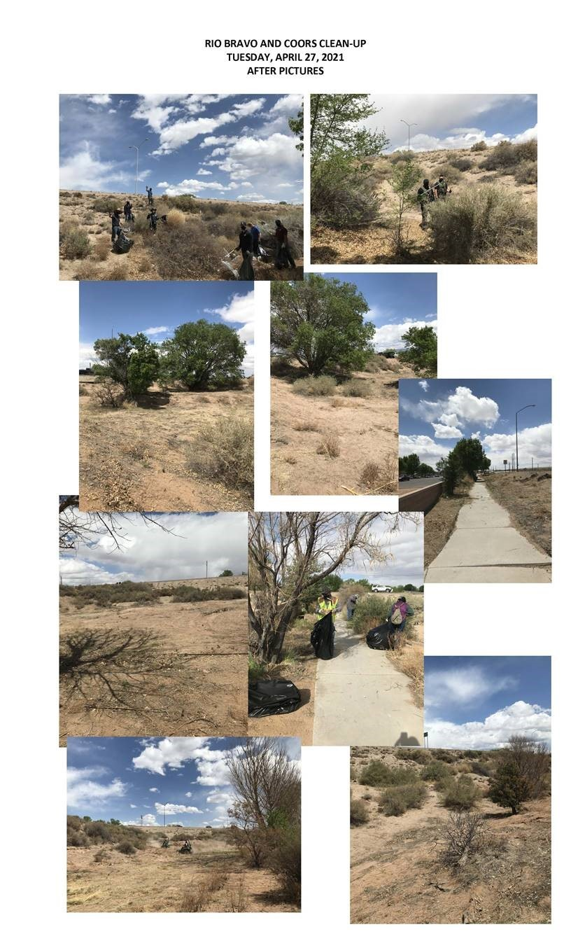 Rio Bravo and Coors Cleanup