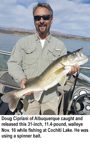 new mexico fishing and stocking reports for nov 21