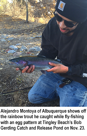 New mexico fishing and stocking reports for nov 29 for Nm fish stocking report