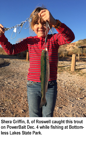 New mexico fishing and stocking reports for dec 6 for Conchas lake fishing report
