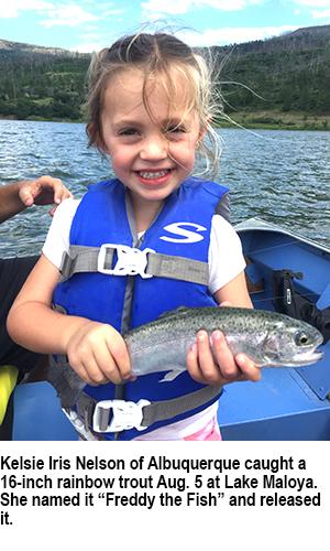 Lake Maloya trout