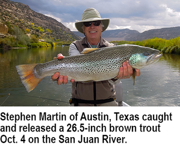 New mexico fishing and stocking reports for oct 31 for Nm fish stocking report