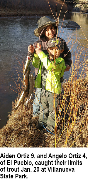 New mexico fishing and stocking report for jan 30 for Conchas lake fishing report