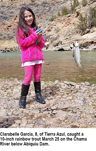 New mexico fishing and stocking reports for april 3 2018 for Ute lake fishing report