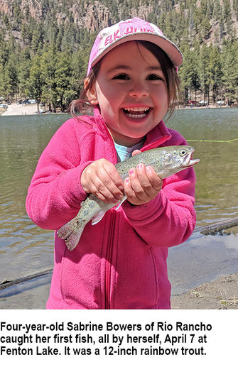 New mexico fishing and stocking reports for april 17 for Ute lake fishing report