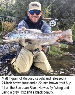 New mexico fishing and stocking reports for august 21 for Conchas lake fishing report