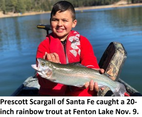 Fenton Lake Catch of the Week image.