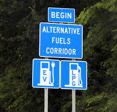 alternative fuel corridor sign