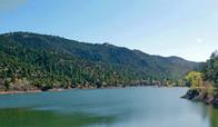 Santa Fe River reservoir