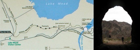 RR Tunnel Trail Map & Photo