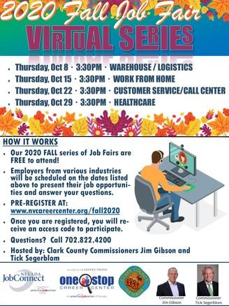 Fair Job Fair Virtual Series