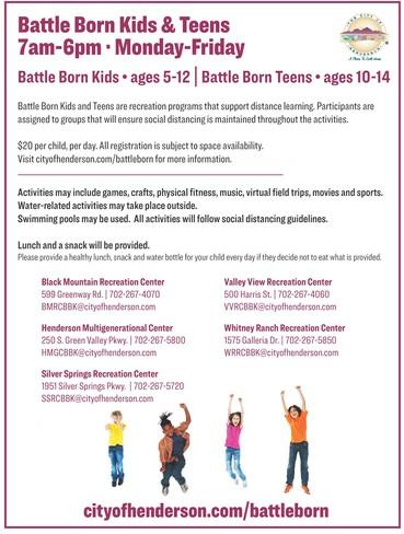 Henderson Battle Born Kids