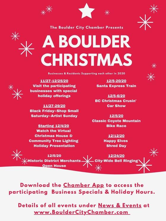 Boulder City Holiday Flyer