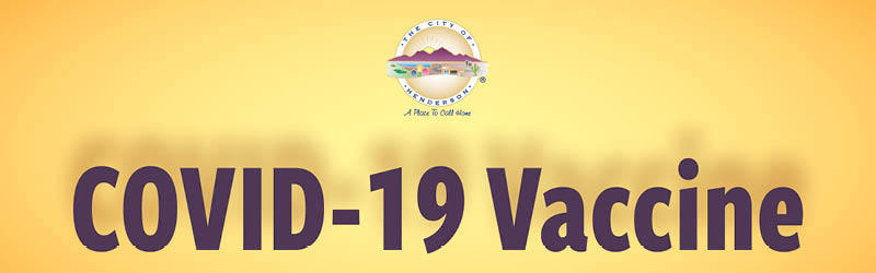 City of Henderson - COVID-19 Vaccinations