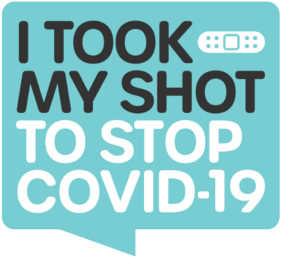 I Took My Shot to Stop COVID 19