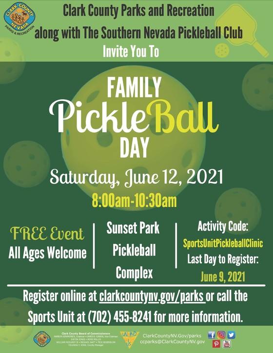 Family Pickleball Day