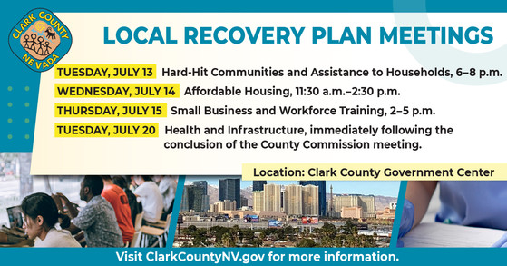 Local Recovery Plan Meeting