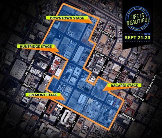 LIB Festival Footprint