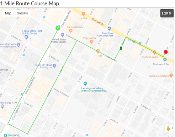 First Friday Las Vegas Map.December 2018 Downtown Road Closures