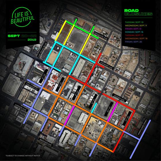 LIB 2019 Street Closures