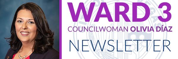 Ward 3 newsletter header