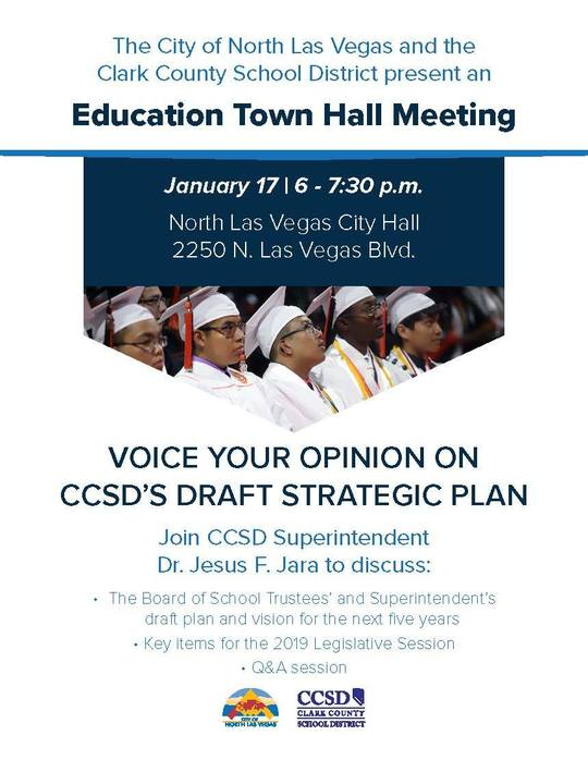 CCSD Townhall Meeting