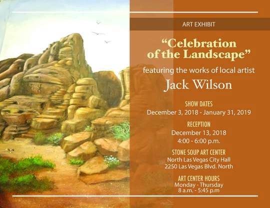Celebration of Landscapes flyer