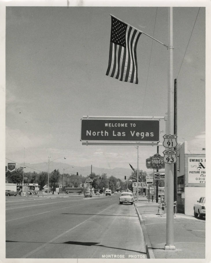 North Las Vegas through the years