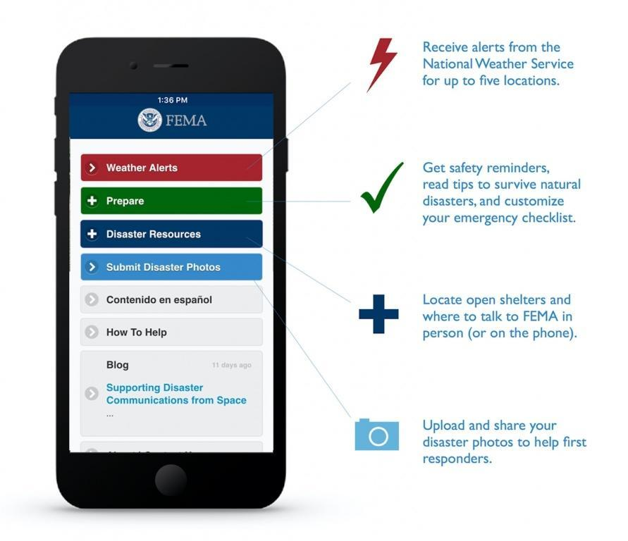 Download the FEMA mobile app!