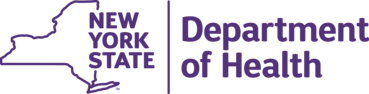 NYS                                   Department of Health logo