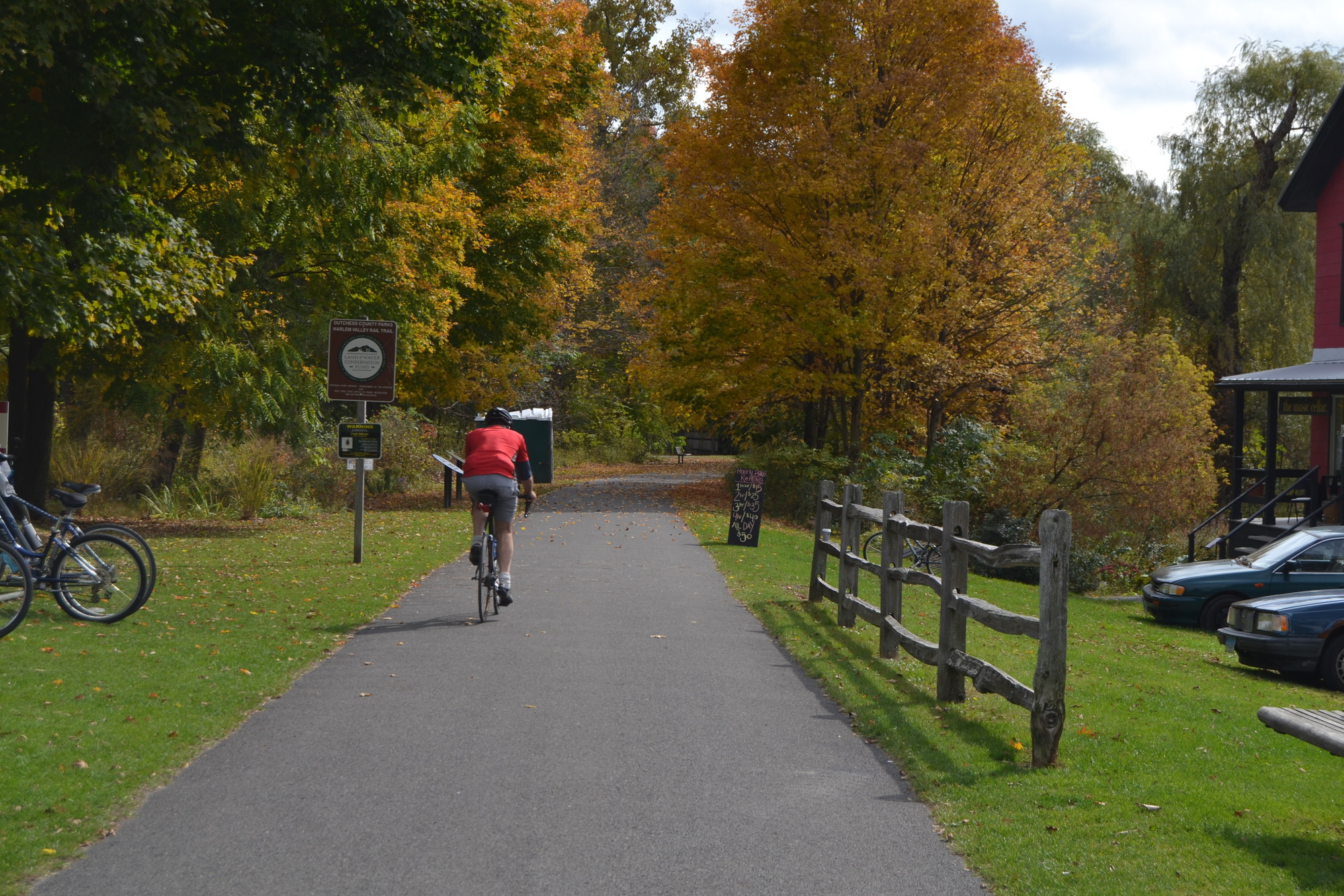 Construction for Harlem Valley Rail Trail extension has begun