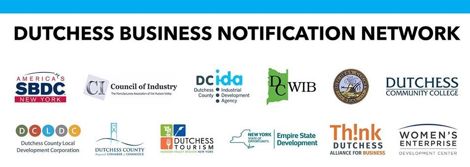 logo for Dutchess Business Notification Network