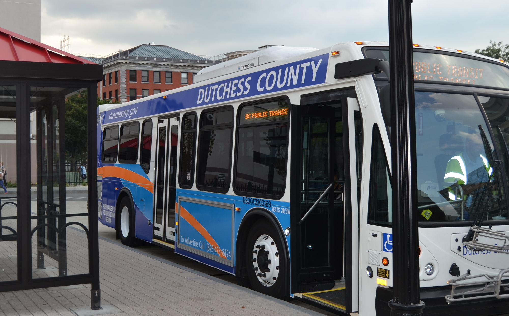 Dutchess County Public Transit outreach meeting on bus shelters