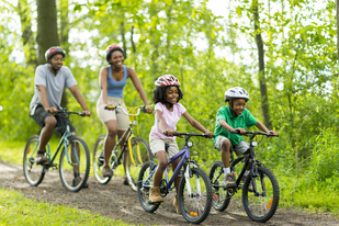 family biking IS