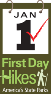 First Day Hike Logo
