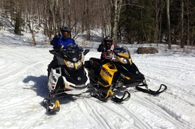 Snowmobiling in NY State Parks