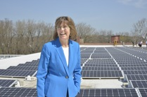 Commissioner Rose Harvey, Solar Panels