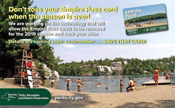 Empire Pass Card-- Save and Renew