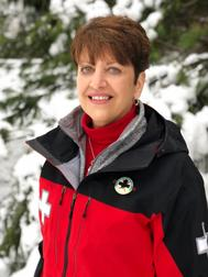 Mary McQueen, Ski Patrol at Allegany State Park